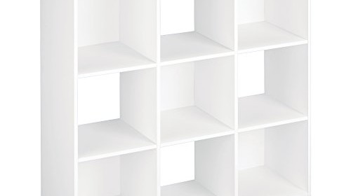 closetmaid 421 cubeicals 9 cube organizer white storage system store. Black Bedroom Furniture Sets. Home Design Ideas